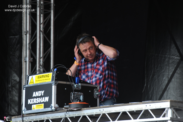 DJ Andy Kershaw at Africa Oye 2015