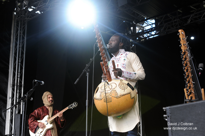 Diabel Sissokho at the Africa Oye Festival 2015, Liverpool, UK