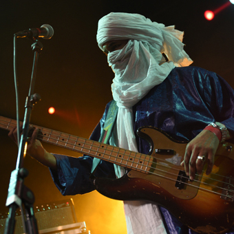 Tinariwen are poet-guitarists and so