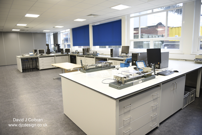 LJMU photographer provides images of new labs