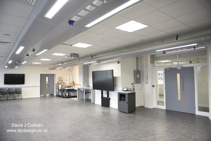 interior photography for a university