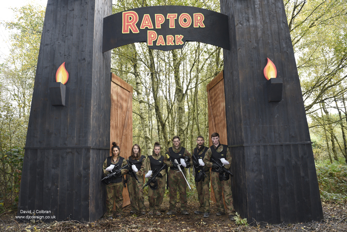 Paintball business photography Merseyside