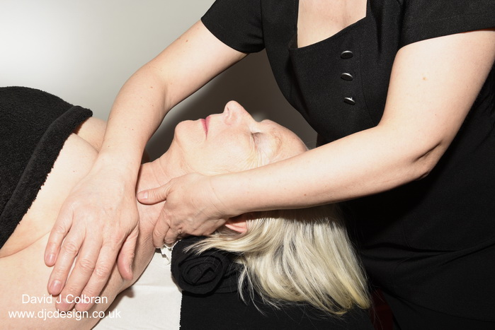 Lifestyle therapist photography - massage in Liverpool