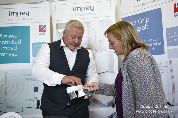 Trade show demonstration image by Liverpool photographer David J Colbran